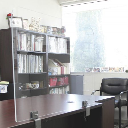Protection Glass Screen Office Furniture Los Angeles